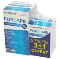 Acheter Forcapil Gélules croissance vitalité cheveux ongles B/180+60 à Libourne