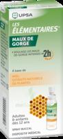 Les Elementaires Solution Buccale Maux De Gorge Adulte 30ml à Libourne