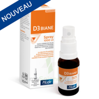 Pileje D3 Biane Spray 1000 Ui - Vitamine D Flacon Spray 20ml à Libourne